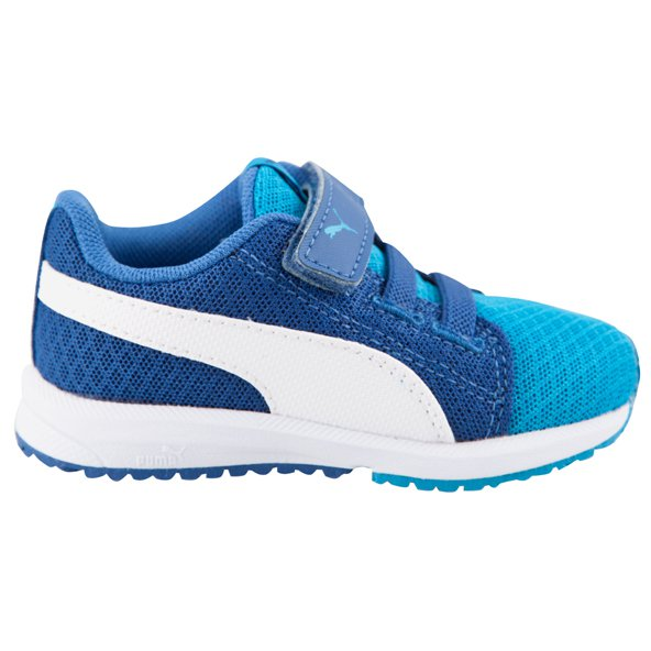 Puma Carson Mesh VE Infant Boys' Trainer, Blue