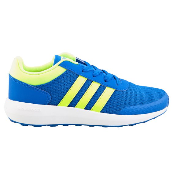 adidas Cloudfoam Race LMT Boys' Trainer, Blue