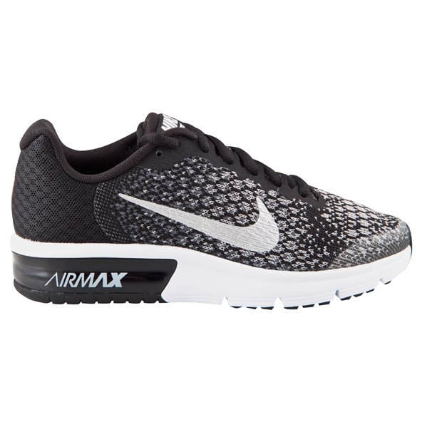 Nike Air Max Sequent 2 Unisex Trainer, Black