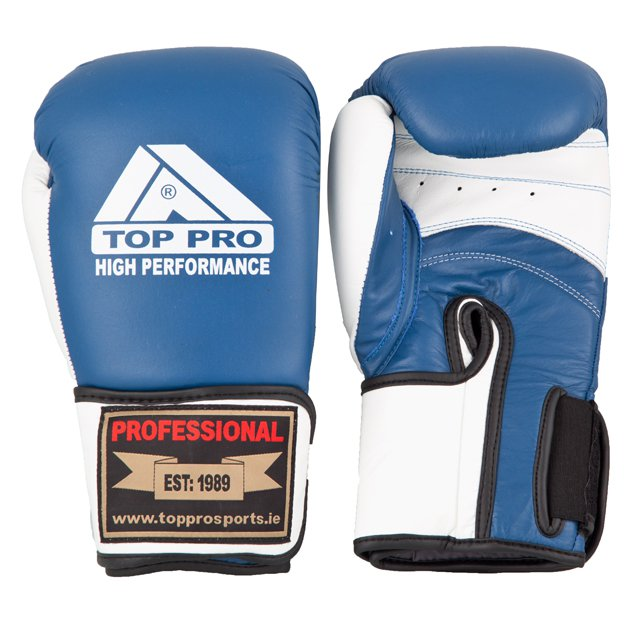 Top Pro High Performance Gloves, Blue