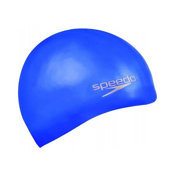 Speedo Silicone Swim Cap Blue