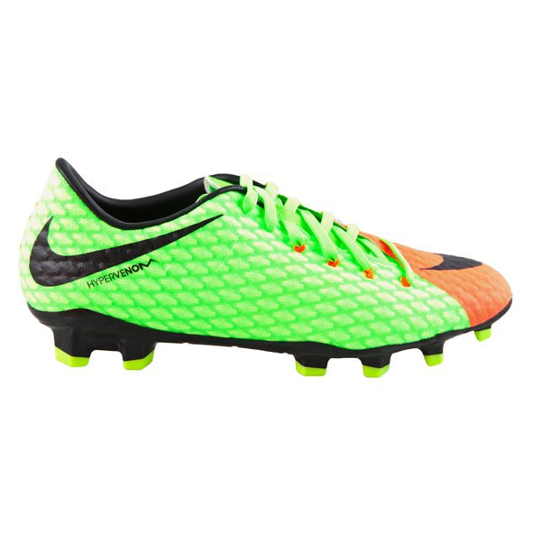 Nike Hypervenom Phelon III FG Football Boot, Green