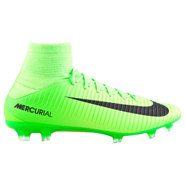Nike Mercurial Veloce III DF FG Football Boot, Green