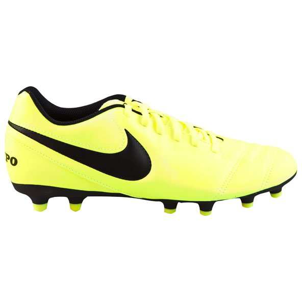 Nike Tiempo Rio III FG Football Boot, Yellow
