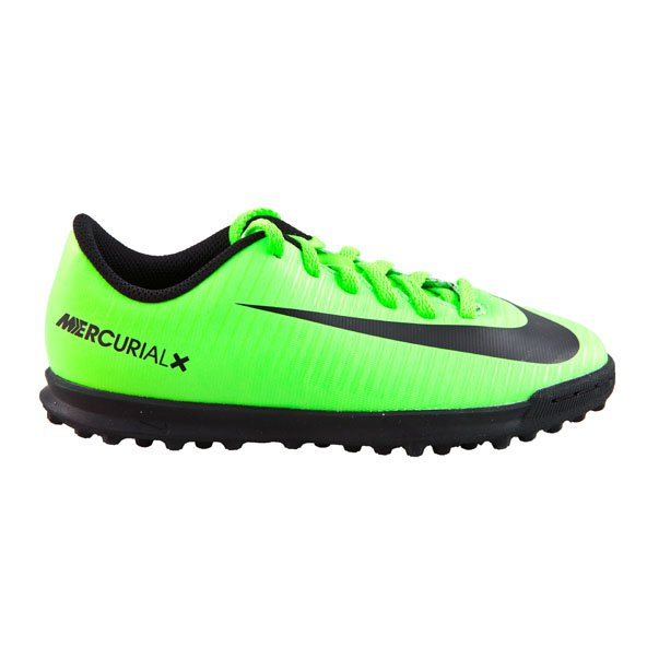 Nike MercurialX Vortex III Kids' Astro Boot, Green