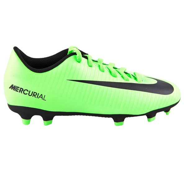 Nike Mercurial Vortex III Kids' FG Boot, Green