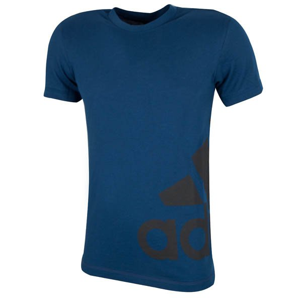 adidas Tentro Cotton Men's T-Shirt, Blue