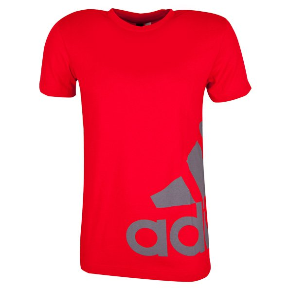 adidas Tentro Cotton Men's T-Shirt, Red