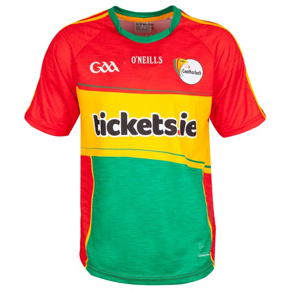 O'Neills Carlow 2017 Kids' Home Jersey, Red