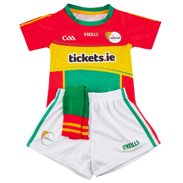 O'Neills Carlow 2017 Home Kids' Kit, Red