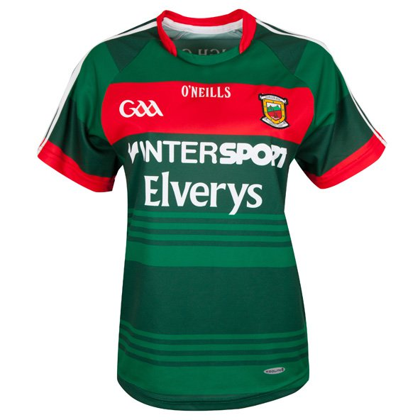 O'Neills Mayo 2017 Women's Home Jersey, Green