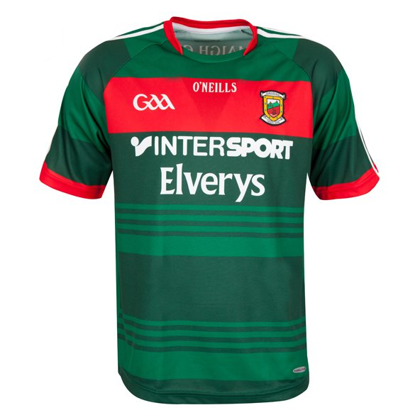 O'Neills Mayo 2017 Kids' Home Jersey, Green