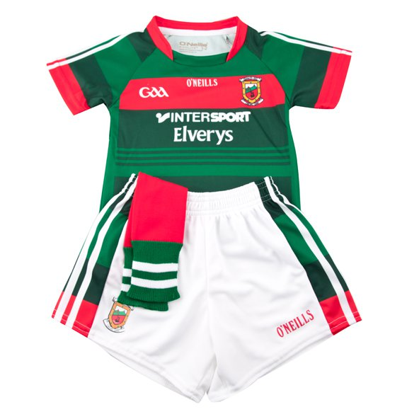 O'Neills Mayo 2017 Kids' Home Kit, Green