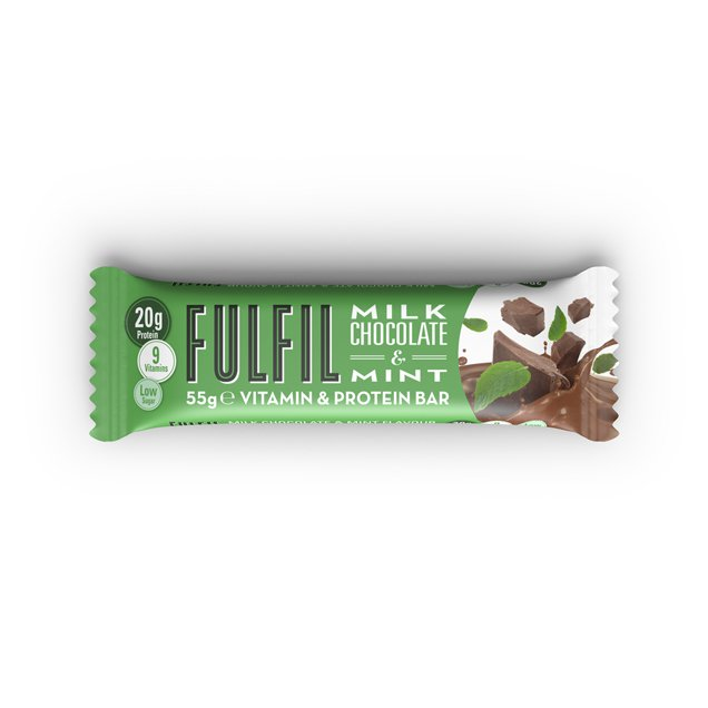 Fulfil Milk Choc Mint Bar
