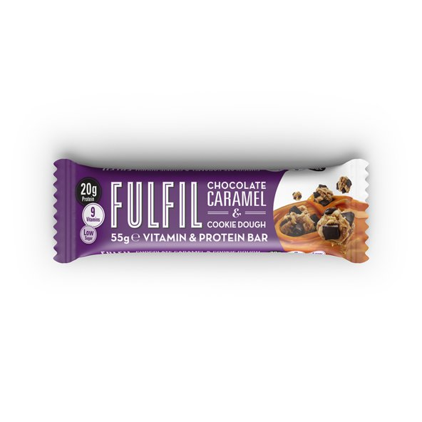 Fulfil Caramel Cookie Dough Bar