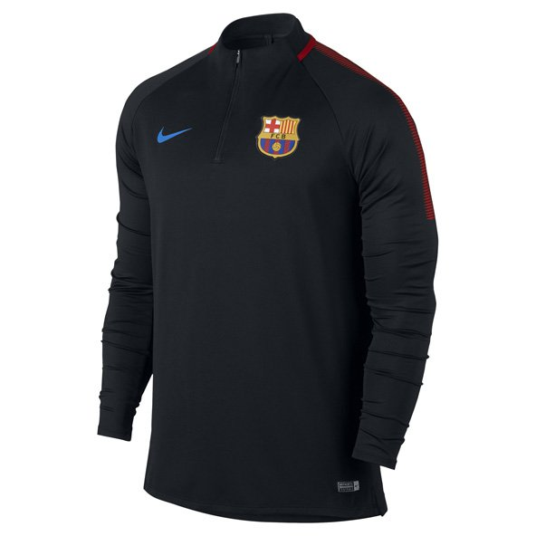 Nike FC Barcelona 2017 Squad Drill Top, Black