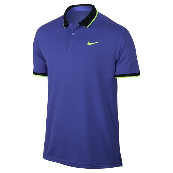 Nike Court Dry Men's Tennis Polo, Blue