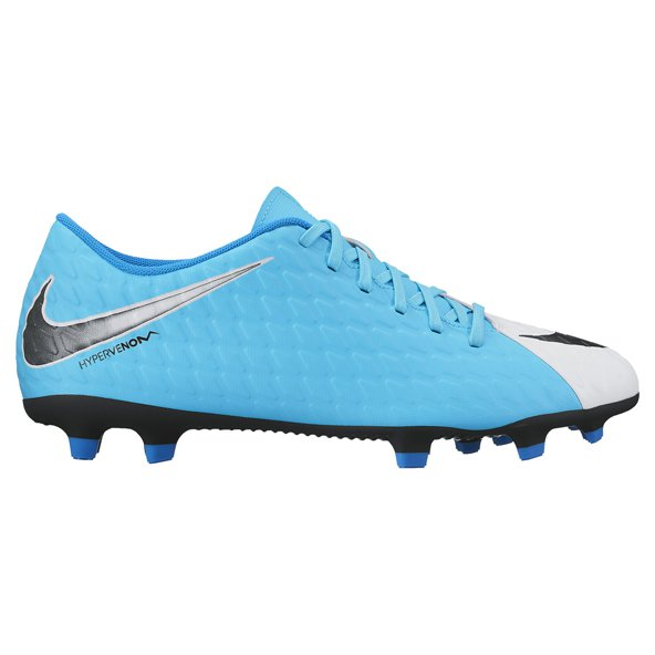 Nike Hypervenom Phade III FG Football Boot, White