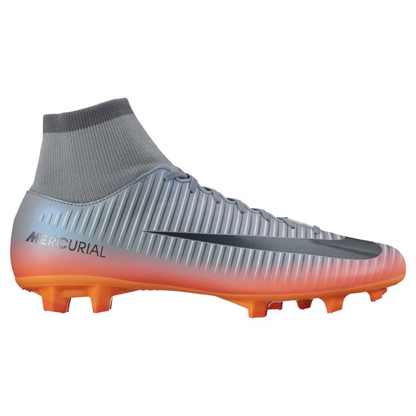 Nike Mercurial Victory VI CR7 Football Boot, Grey