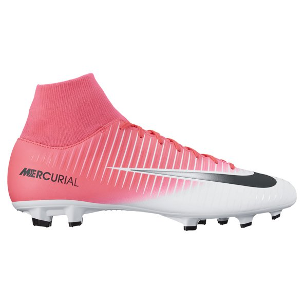 Nike Mercurial Victory VI DF FG Football Boot, Pink