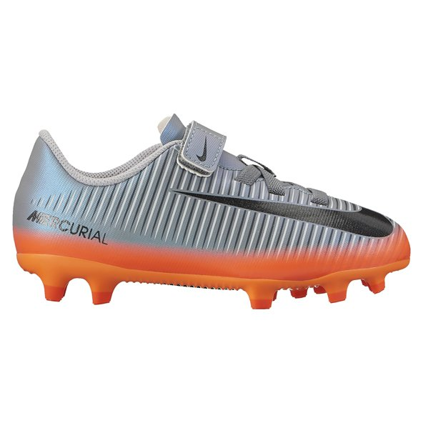 Nike Mercurial Vortex III CR7 Junior Kids' Boot, Grey