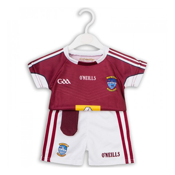 O'Neills Westmeath Hm Kid Kit 17 Marn/Wh