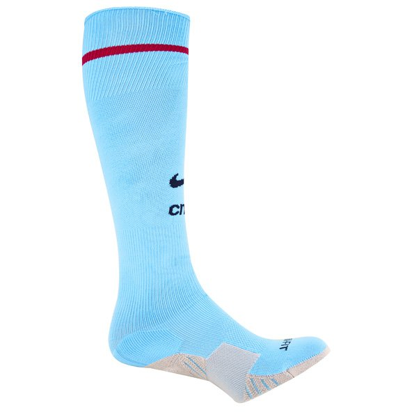 Nike Man City 2017/18 Home Sock, Blue