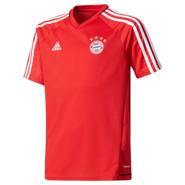 adidas Bayern Munich Kids' Training Jersey, Red