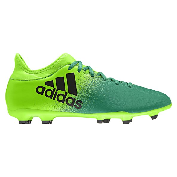 adidas X 16.3 FG Football Boot, Green