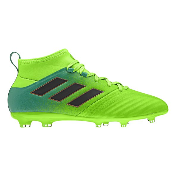 adidas ACE 17.1 Primeknit Kids' FG Boot, Green