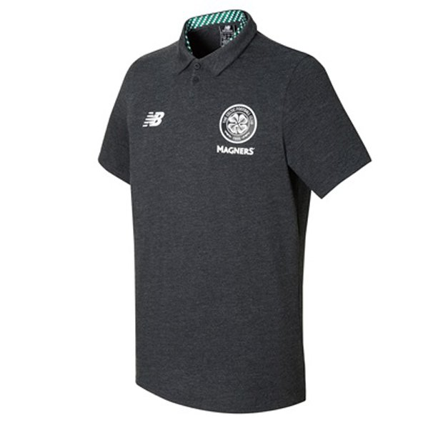 NB Celtic 17 Media Polo Black