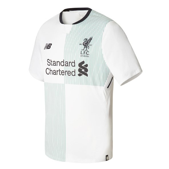 New Balance Liverpool 2017/18 Away Jersey, White