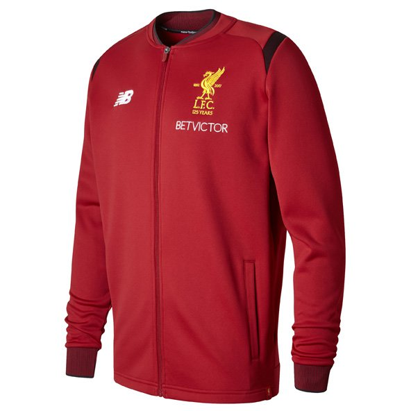 NB Liverpool 2017/18 Walk Out Jacket, Red