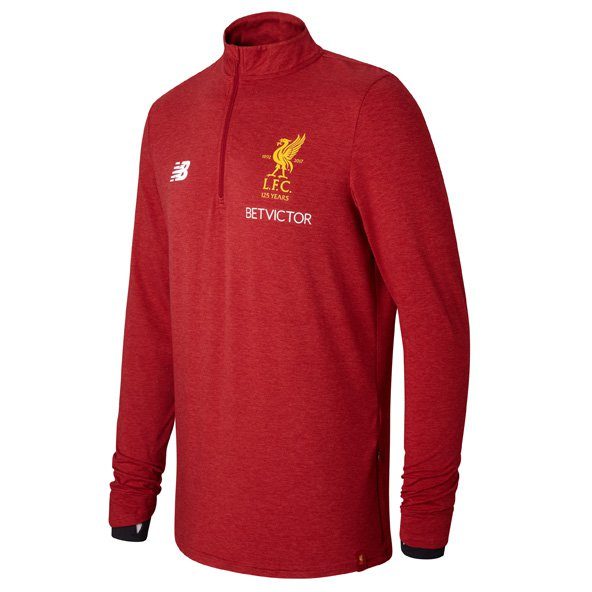 NB Liverpool 2017/18 Mid Layer Training Top, Red