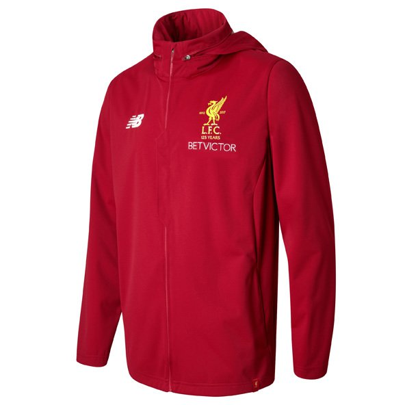 NB Liverpool 2017/18 Training Rain Jacket, Red