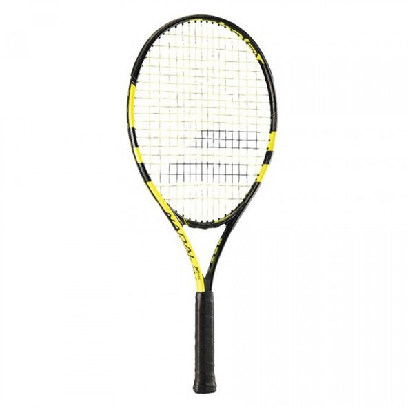 Babolat Nadal 25'' Junior Tennis Racket, Black