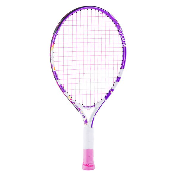 Babolat B'Fly 19'' Junior Tennis Racket, White