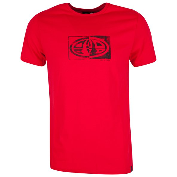 Animal Claw Graphic Men's T-Shirt, Red