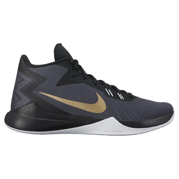 Nike Zoom Evidence Men's Basketball Shoe, Grey