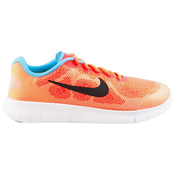 Nike Free RN 2017 Girls' Running Shoe, Pink