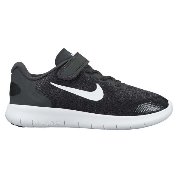 Nike Free RN 2017 Junior Boys' Trainer, Black