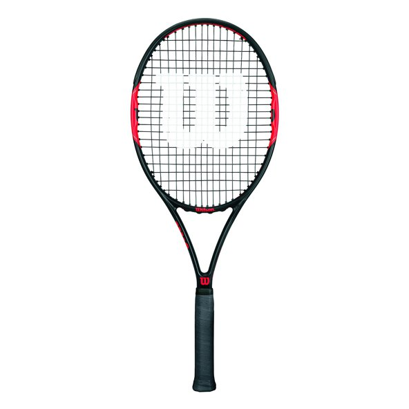 Federer Control 103 Racket Black/Red