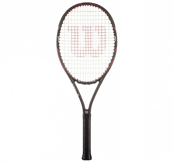 Wilson Drone Tour 100 Tennis Racket, Black