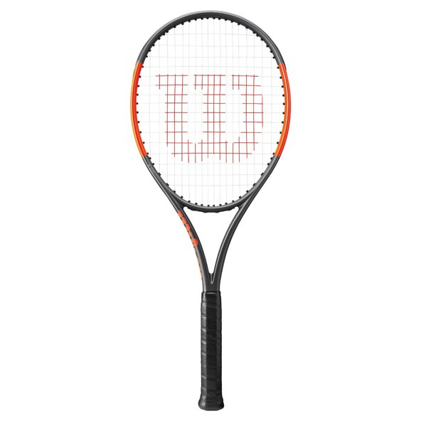 Wilson Burn 100LS Tennis Racket, Black