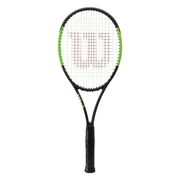 Wilson Blade 98L 16x9 Tennis Racket, Black