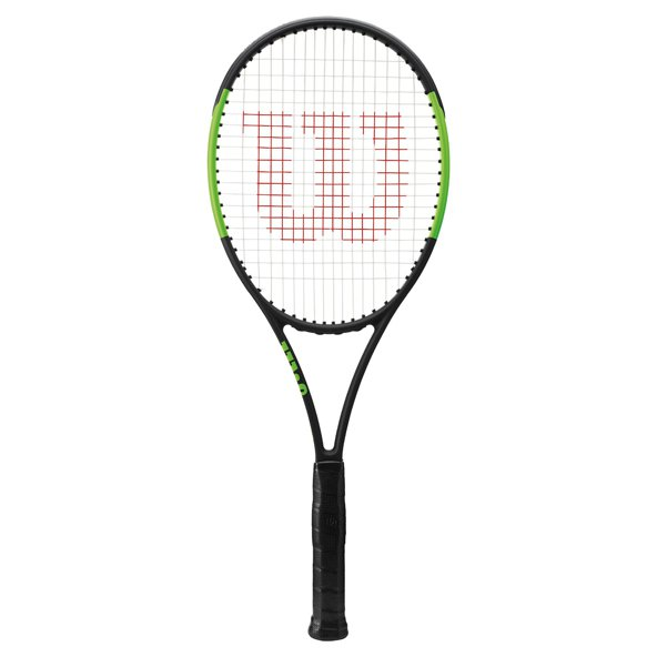 Wilson Blade 98UL 16x19 Tennis Racket, Black