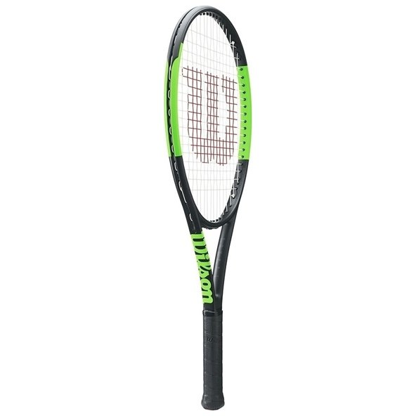 Wilson Blade 25 Junior Tennis Racket, Black