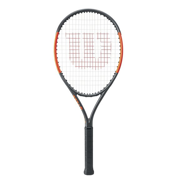 Wilson Burn 26S Junior Tennis Racket, Black