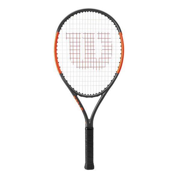 Wilson Burn 25S Junior Tennis Racket, Black