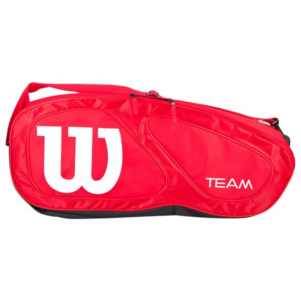 Wilson Team II 6 Pack Tennis Bag, Red